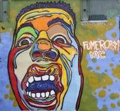 Muurschilderingkunst bij Schaduwrijk in Manhattan Royalty-vrije Stock Afbeeldingen