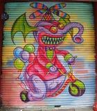 Muurschilderingkunst in Weinig Italië in Manhattan Stock Fotografie