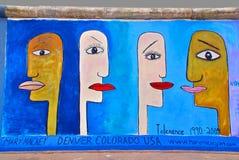 Muurschilderingtolerantie Stock Foto's