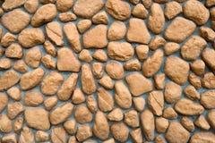 Muurtextuur van grote stenen Stock Foto