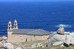 Muxia stone church Stock Photography
