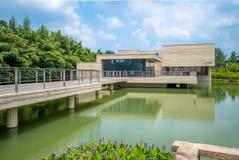 Muxin Art Museum in Wuzhen stock photos