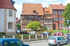 Muy vieja parte de la ciudad Imagenes de archivo