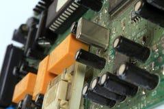 Muy vieja placa de circuito foto de archivo libre de regalías