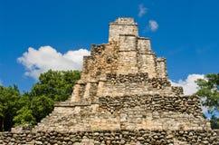 Muyil ancient Maya sites, Yucatan Peninsula in Mexico stock photo
