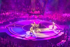 MUZA koncert w Bologna Obraz Royalty Free