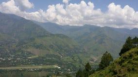 Muzafarabad hills Royalty Free Stock Photos