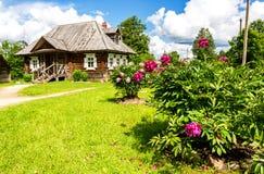 Muzealna farma Aleksander Suvorov blisko Borovichi zdjęcie stock