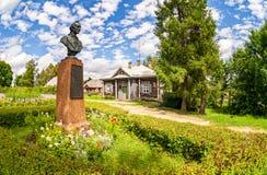 Muzealna farma Suvorov w Konchanskoe-Suvorovskoe zdjęcia stock