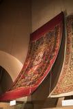 Muzealna kolekcja antyczni rzadcy dywany Istanbuł Obrazy Royalty Free
