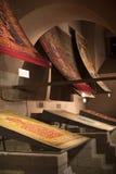 Muzealna kolekcja antyczni rzadcy dywany Istanbuł Zdjęcia Royalty Free