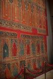 Muzealna kolekcja antyczni rzadcy dywany Istanbuł Obrazy Stock