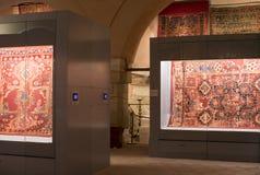 Muzealna kolekcja antyczni rzadcy dywany Istanbuł Zdjęcie Royalty Free