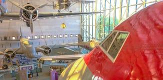 muzealna krajowych przestrzeni lotniczej Obrazy Stock
