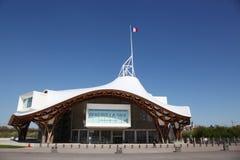 Muzealny centre pompidou w Metz, Francja obrazy royalty free