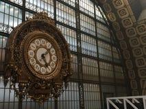 Muzealny duży zegar obrazy stock