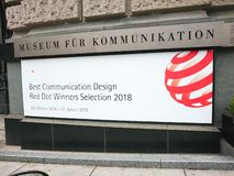 Muzealny fuer Kommunikation Berlin obrazy stock
