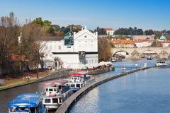 Muzealny Kampa, Praga, republika czech (UNESCO) Zdjęcia Royalty Free
