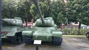 Muzealny KoÅ 'obrzeg Polen Panzer Ussr Fotografia Royalty Free