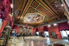 Muzealny louvre, Paryż obraz stock