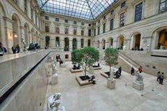Muzealny louvre, Paryż Fotografia Royalty Free