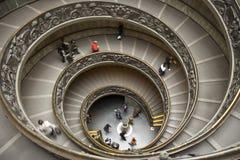 muzealny schody Vatican Fotografia Stock