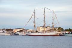 Muzealny statek - Dar Pomorze Zdjęcia Stock