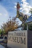 Muzealny wejście Obraz Royalty Free