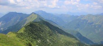 Muzec山,朱利安阿尔卑斯山,斯洛文尼亚 图库摄影
