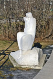 Muzeon Art Park (parc tombé de monument) Image stock