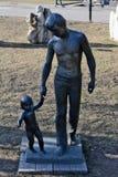 Muzeon Art Park (parc tombé de monument) Images stock