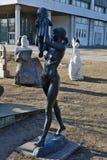 Muzeon Art Park (parc tombé de monument) Photos stock