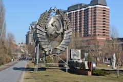 Muzeon Art Park (parc tombé de monument) Photo stock