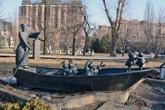 Muzeon Art Park (parc tombé de monument) Photo libre de droits