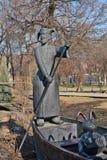 Muzeon Art Park (parc tombé de monument) Image libre de droits