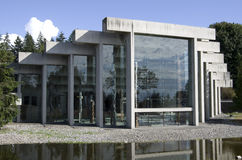 Muzeum antropologia przy UBC Zdjęcia Royalty Free