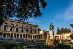 Muzeum Azjatycka sztuka w Corfu wyspie, Grecja Fotografia Stock