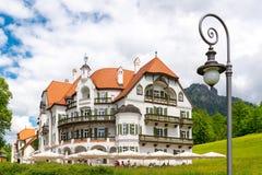 Muzeum Bawarscy królewiątka, Fussen, Bavaria, Niemcy fotografia stock