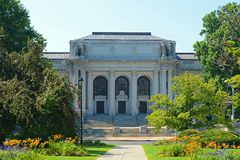 Muzeum Connecticut historia, Hartford, CT, usa fotografia royalty free