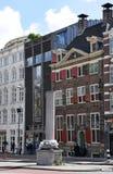 Muzeum Het Rembrandthuis na Jodenbreestraat w Amsterdam, Holandia, holandie zdjęcie stock