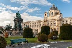 Muzeum historia naturalna i zabytek Maria Theresia w Vien Fotografia Royalty Free