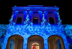 muzeum instalacji światła national Singapore Fotografia Royalty Free