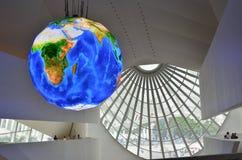 Muzeum jutro świat Obraz Royalty Free