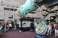 muzeum lotnicza przestrzeń Zdjęcie Royalty Free