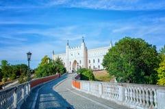 Muzeum Lubelskie Schloss Na Zamku Lublin lizenzfreie stockfotografie