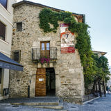 Muzeum Luis Del Olmo radio, Ponferrada Hiszpania zdjęcie royalty free