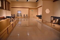 Muzeum Ming i Qing meblarska powystawowa sala obrazy stock