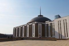 Muzeum na Poklonnaya wzgórzu Zdjęcie Stock