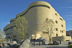 Muzeum Narodowe Amerykańsko-indiański, Smithsonian w Waszyngton D C Obrazy Royalty Free