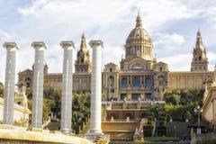 Muzeum Narodowe Katalońska wizualna sztuka, Barcelo Zdjęcie Royalty Free